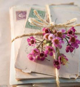lettera fiori